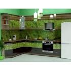 Кухня из панелей Альбико Киви