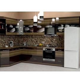 Кухня из панелей Альбико Ракушка