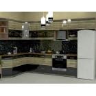 Кухня из панелей Альбико Беж