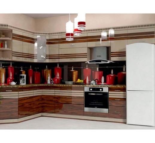 Кухня из панелей Альбико Свечи
