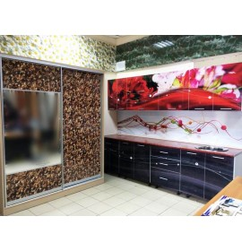 Кухня из панелей Альбико выставочный