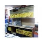 Кухня из панелей Альбико Лимон