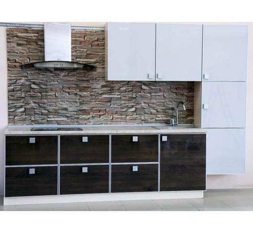 Кухня из панелей Альбико Минимализм