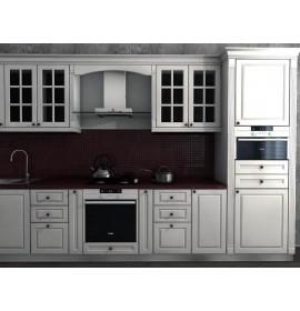 Кухня эмаль белая матовая