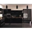 Кухня из МДФ черная